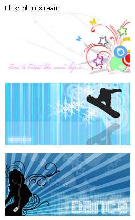 Quick Flickr Widget