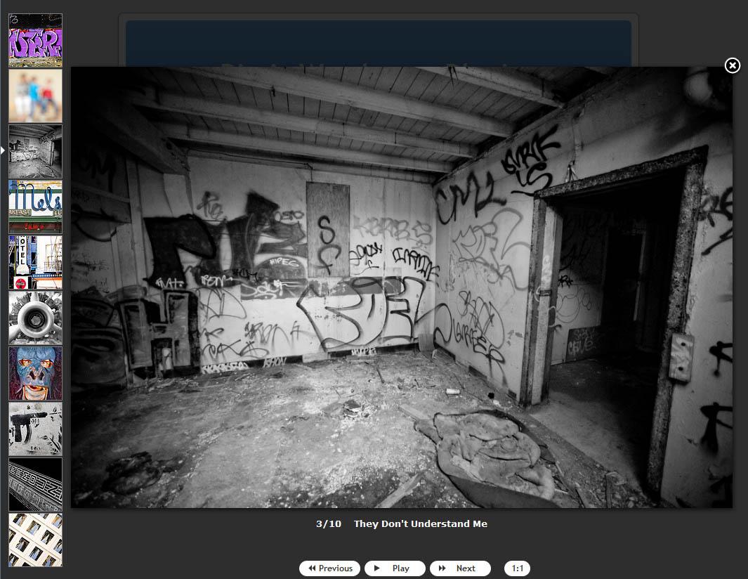 Flickr + Highslide