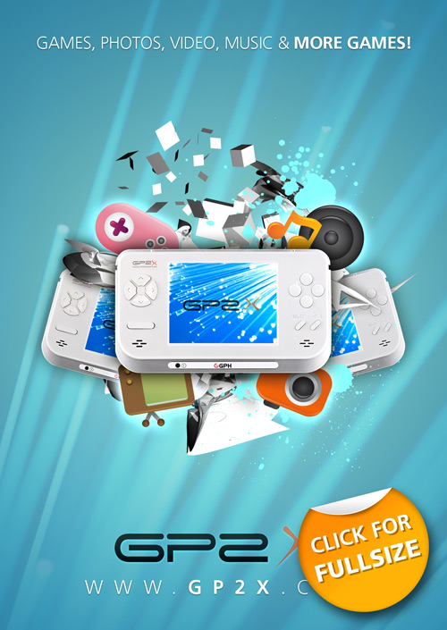 Portable Gaming Device Poster