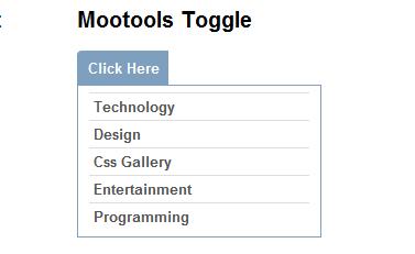 CSS vertical menu