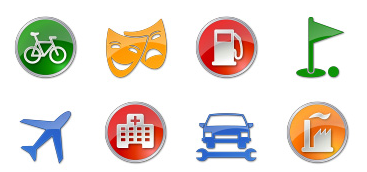 interest icons