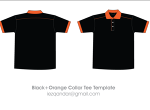 Black Orange t-shirt
