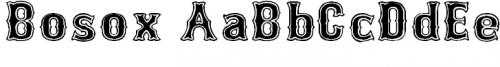 Bosox font