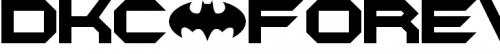 DKC Forever font