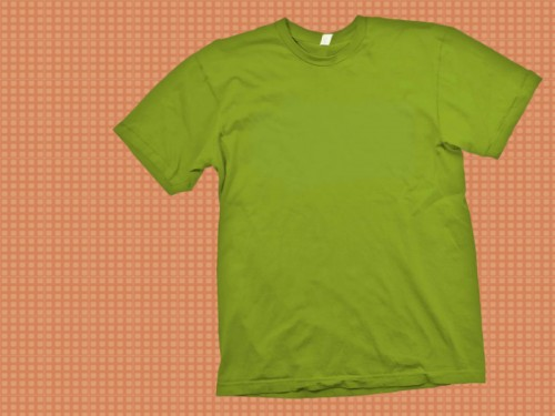green T_Shirt Template