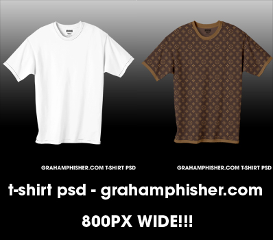 T_Shirt PSD