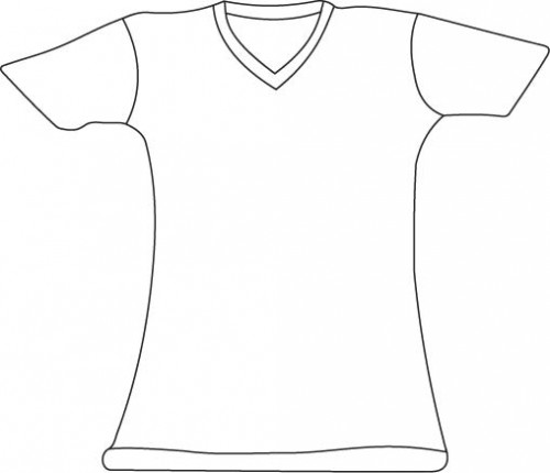 T Shirt Vector Template