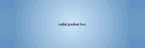 css radial gradient