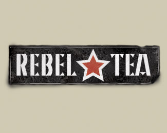 Rebel Tea Concept Logo