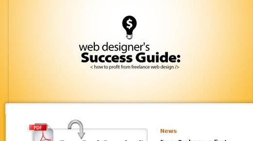 web designer success