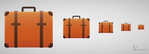 Suitcase Icon in Adobe