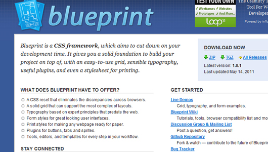 Ultimate collection of web development css frameworks css frameworks malvernweather Images