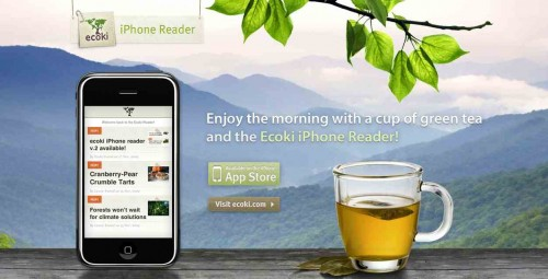 ecoki iPhone Reader