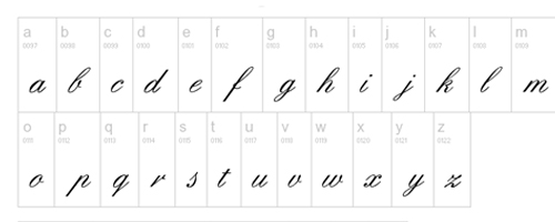 Hd quality calligraphy fonts for web designers
