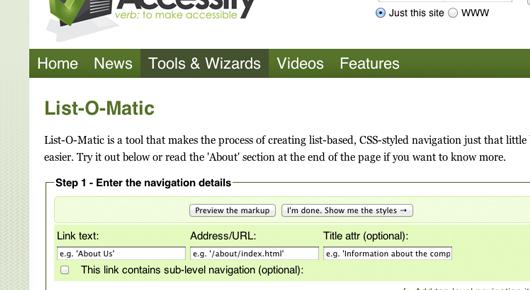 CSS tool