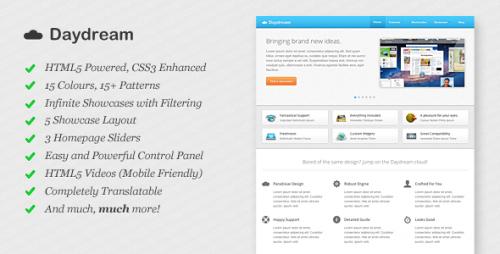 Daydream - A Modern WordPress Theme
