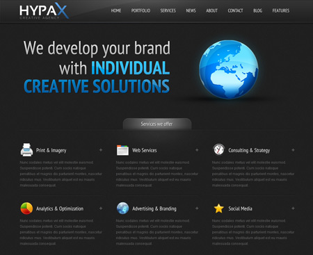HYPAX – Premium WordPress Theme
