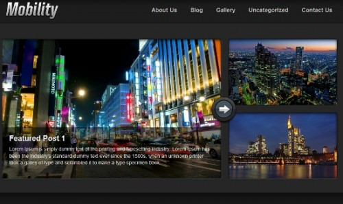 Mobility WordPress Theme
