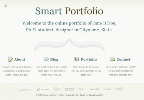 wordpress Smart Portfolio