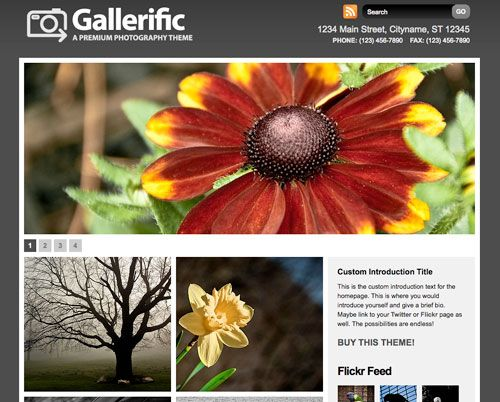 gallery theme