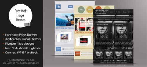 Facebook Page Themes