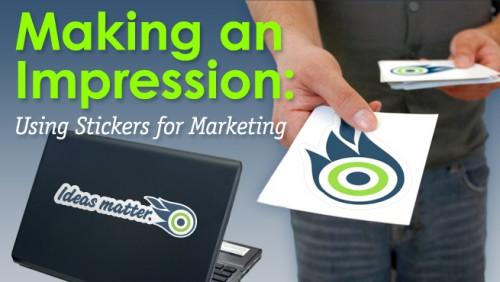 stickers marketing