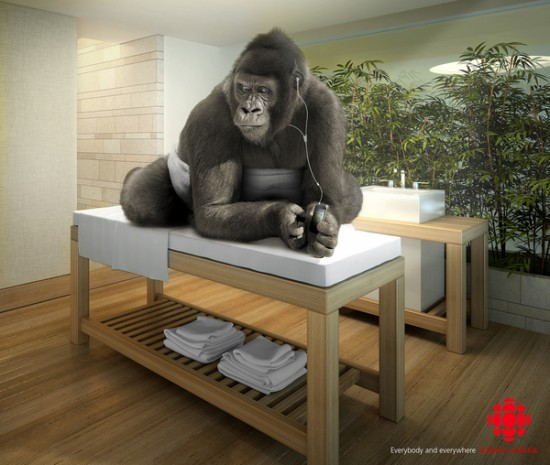 Print Advertisements with Animals (3)