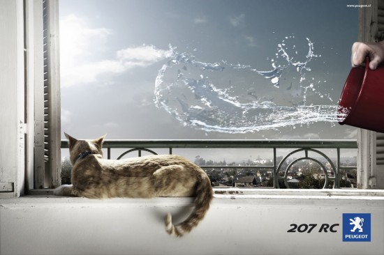 Print Advertisements with Animals (7)