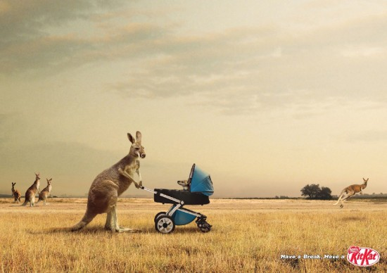Print Advertisements with Animals (15)