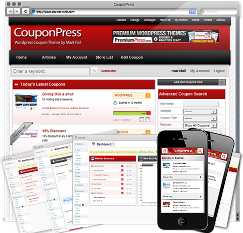 couponpress wordpress theme