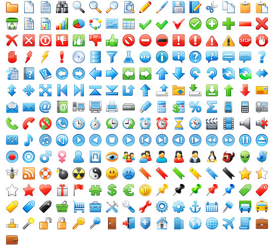 Free Useful Icons For Your Website