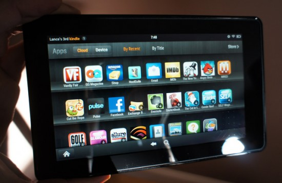 Amazon Kindle Fire Apps