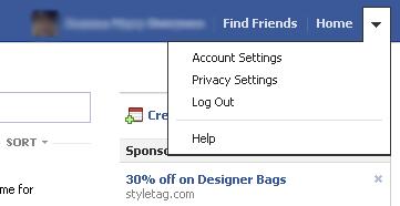 Facebook Default Settings
