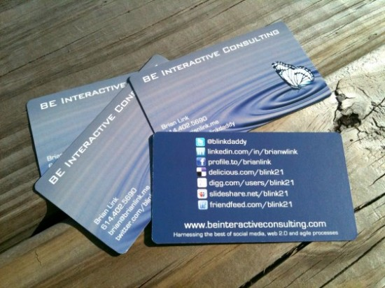 5 ways to make your business card stand out include social networking information social card colourmoves