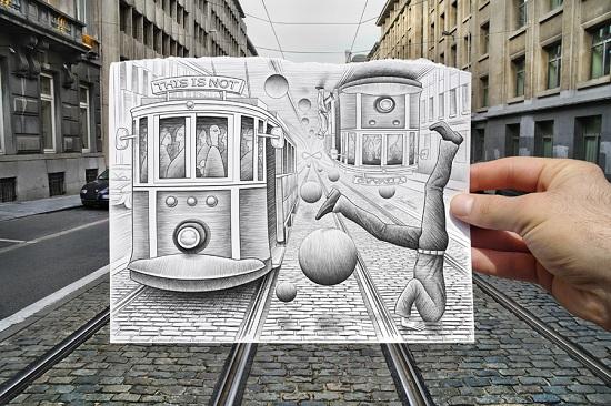 Pencil Tram