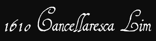 cancellaresca font