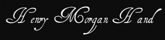 henry morgan font
