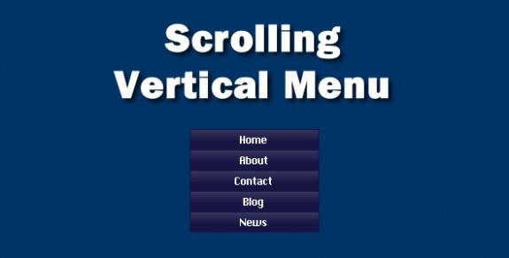 vertical scrolling
