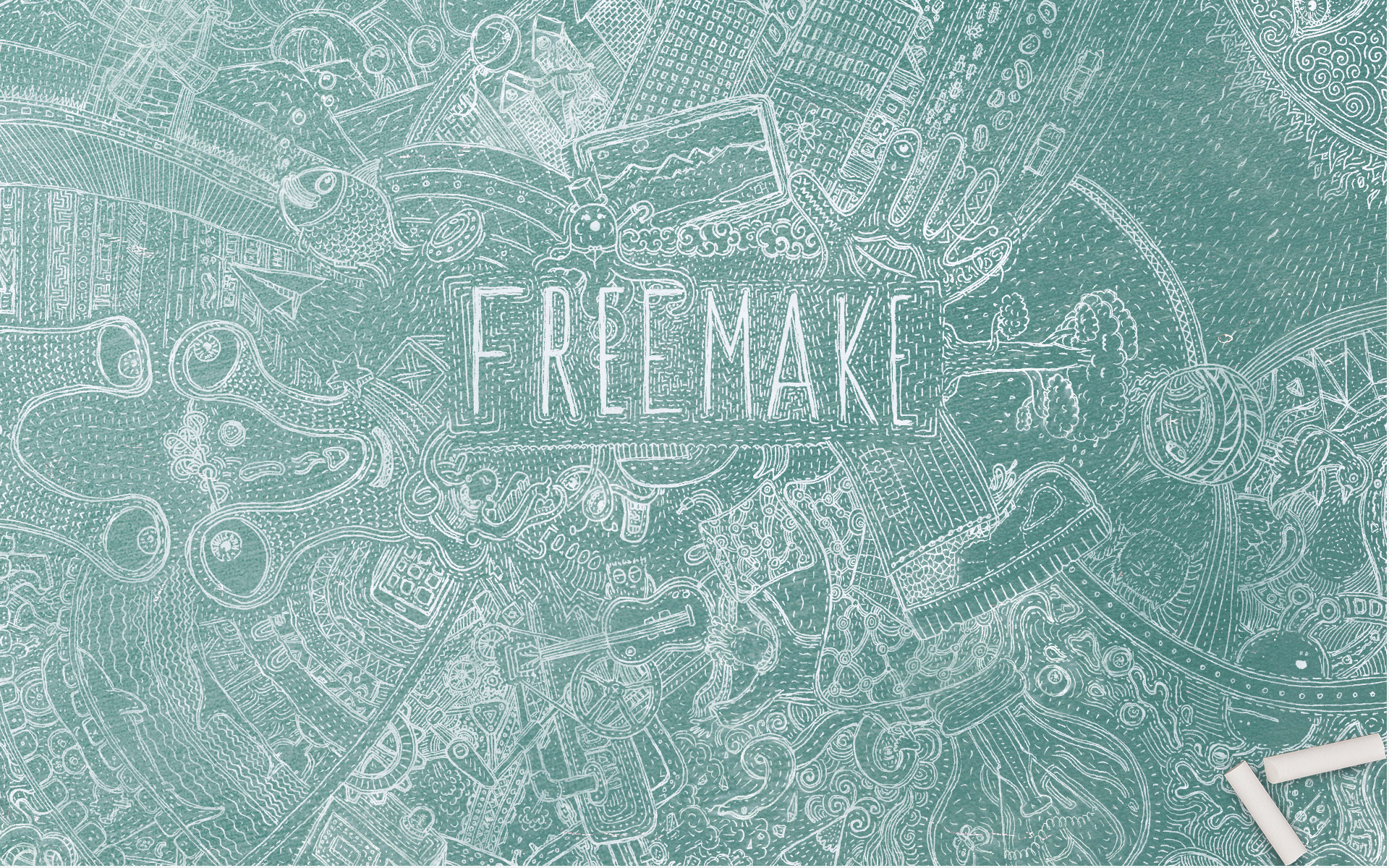 Freemake-Wallpaper-Board-with-chalk-1920x1200