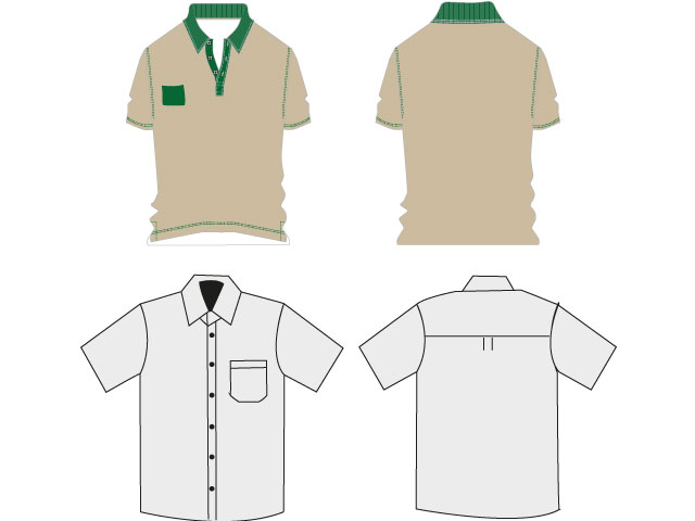Shirt-polo-template