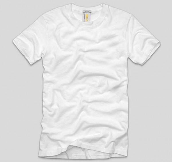white blank t
