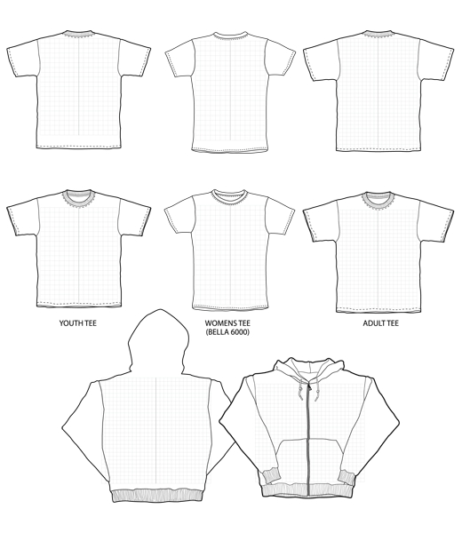 blank-vector-t-shirts