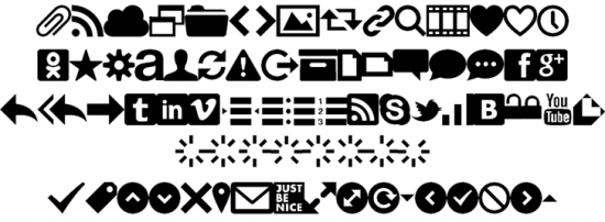 font-icons-550x2021