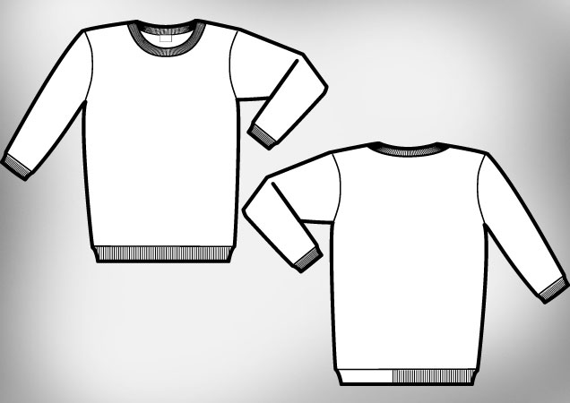 sweat-shirt-vector-template