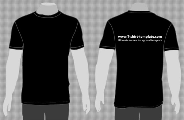 vector-model-t-shirt-template-l