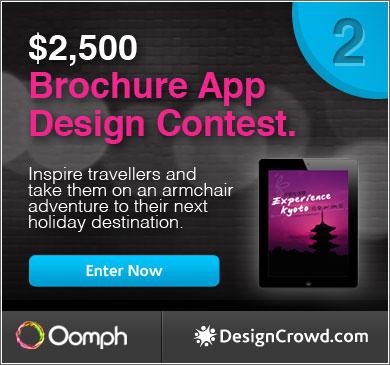 Brochure App Design