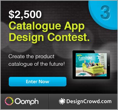 Catalogue App Design