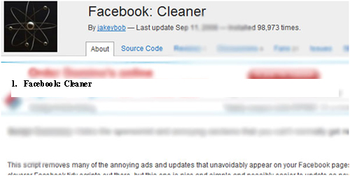 Facebook Cleaner