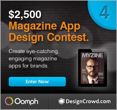 Megazine App Design