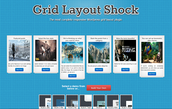 Grid layout shock